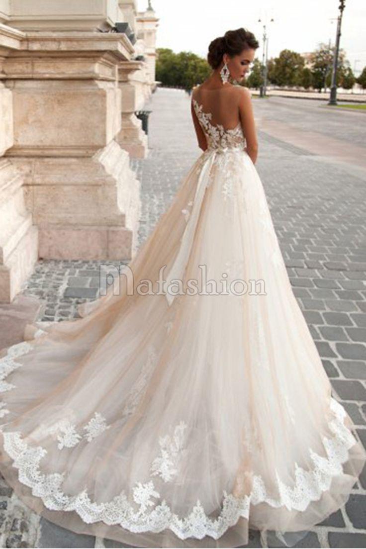 sur le thème Robes De Mariée En Dentelles sur Pinterest  Robes de ...
