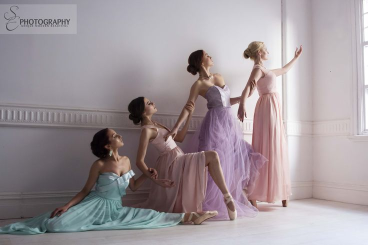 Beautiful collection of Wild Violet gowns in sweet pastel colours. All beautiful bridesmaids styles.