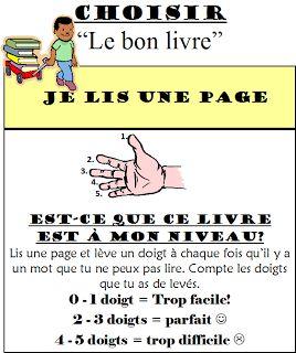 Choisir le bon livre (5 au Quotidien) via Classe de madame Bernice: