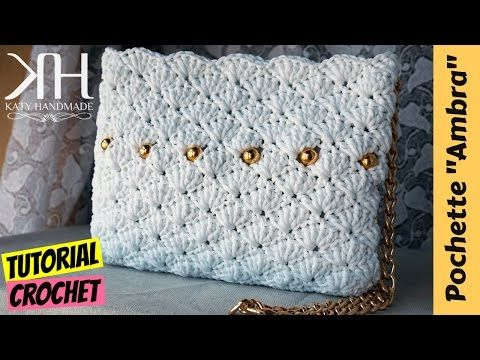 "Tutorial uncinetto borsa ""Tiffany"" 