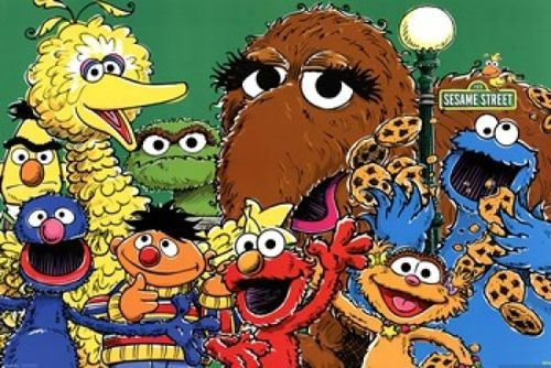 Sesame Street - Group Poster Print (36 x 24) - Item # PYRPAS0501