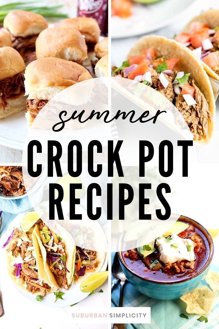 Slow Cooker Recipes For Summer Easy Slow Cooker Recipes Summer Crockpot Recipes Recipes