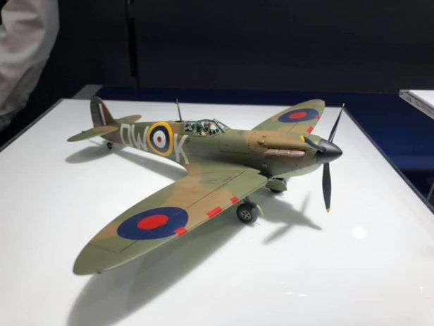 First Look Tamiya S New Tool 1 48 Spitfire Mk 1 Model Spitfire Model Mk1 Model