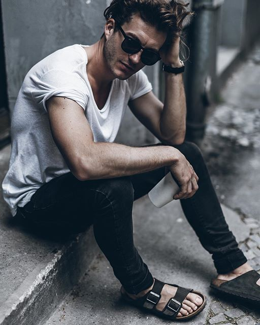 Nice summer style by klemenswhite with kapten sunglasses. kapten-son.com