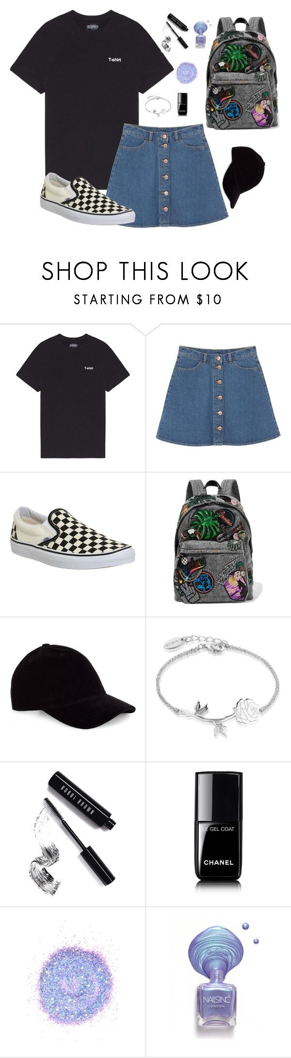 """♡♡♡ What is your favorite anime? ♡♡♡"" by dozyman ❤ liked on Polyvore featuring Monki, Vans, Marc Jacobs, Le Amonie, Disney, Bobbi Brown Cosmetics, Chanel and The Gypsy Shrine"