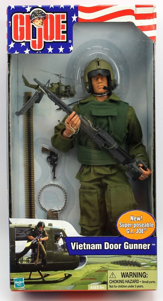 GI Joe VIETNAM DOOR GUNNER 12