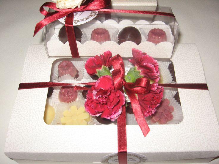 Raw Chocolate in a Pretty Box By Almha Rhais