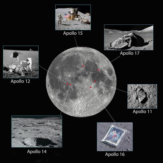 How to See All Six Apollo Moon Landing Sites - Sky & Telescope