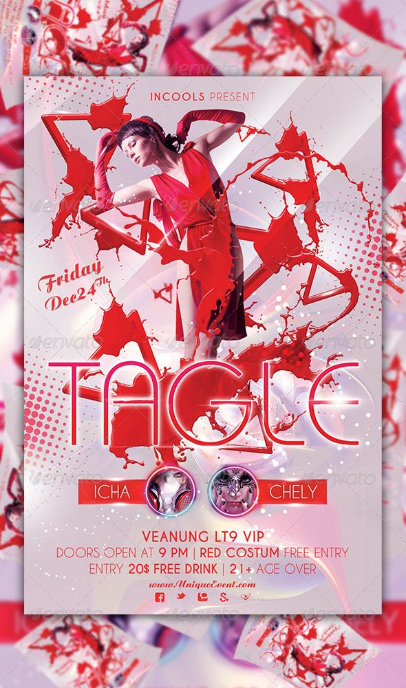 Tagle Party Flyer Template