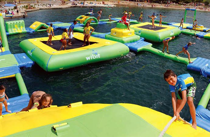 Wibit � The Most Amazing Inflatable Water Parks Ever