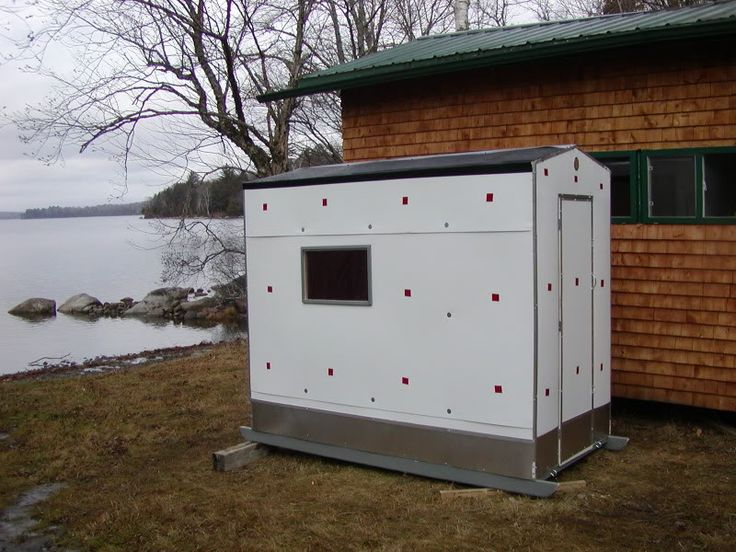1000 ideas about ice shanty on pinterest ice fishing for Fish house plans by images