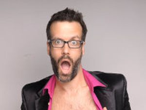 Marcus Brigstocke at the Plough Arts Centre on Saturday 29th November