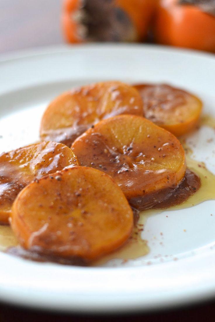 La Cuisine c'est simple: Simple avec un kaki rôti au miel épicé