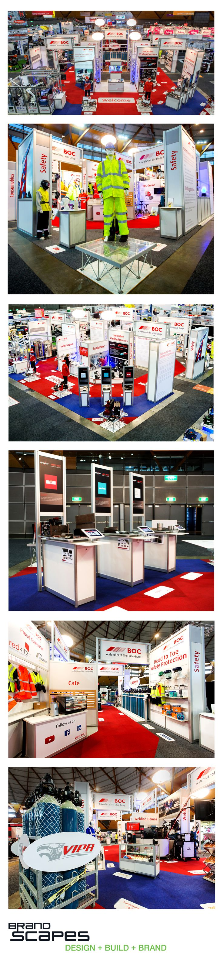 BOC National Manufacturing Week: A massive 225 square meter stand that featured live welding demonstrations, robots in operation and its own café.