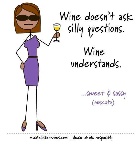 Just one of the many reasons we love wine. | Middle Sister Wines