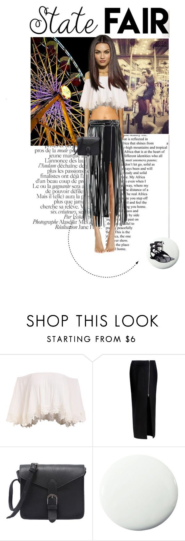"""""""State Fair Outfit #3"""" by doris-knezevic ❤ liked on Polyvore featuring Glamorous, YVY, Pure Home and Kendall + Kylie"""