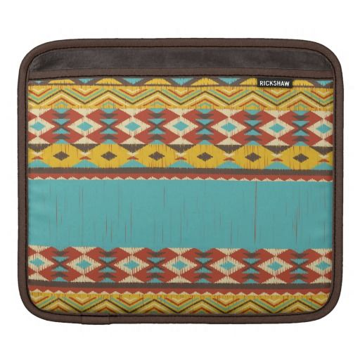 Aztec Pattern iPad Sleeve