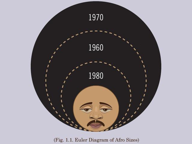 euler diagram of afro sizes
