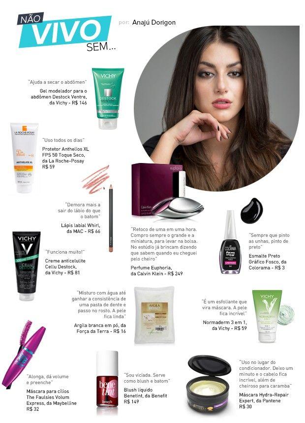 Anajú Dorigon, a Jade de 'Malhação', lista seus produtos de beleza favoritos