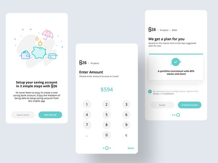 Setup Savings account flow by Prakhar Neel Sharma #Design Popular #Dribbble #shots