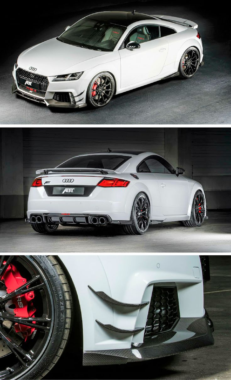 ABT Reveal Their Bonkers Special Edition Audi TT RS-R