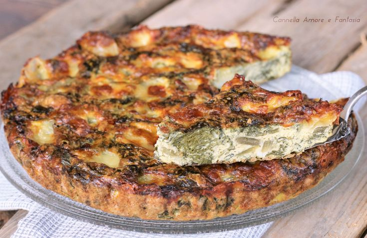 Frittata con bietole - ricetta vegetariana
