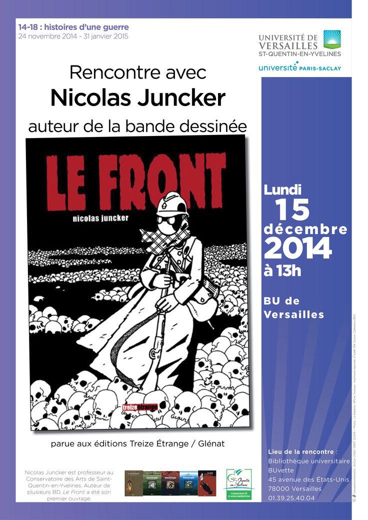 """Temps fort """"14-18 : histoires d'une guerre"""""""