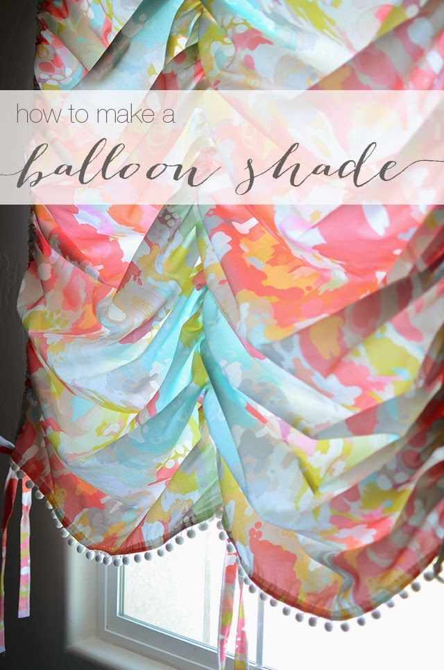 erin loves earl: how to make a balloon shade