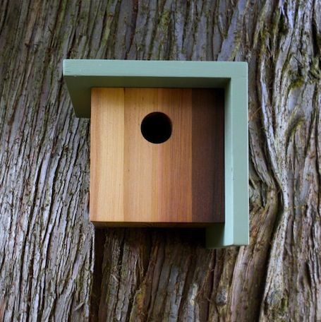 16 Minimalist Birdhouses To Go Totally Cuckoo Over