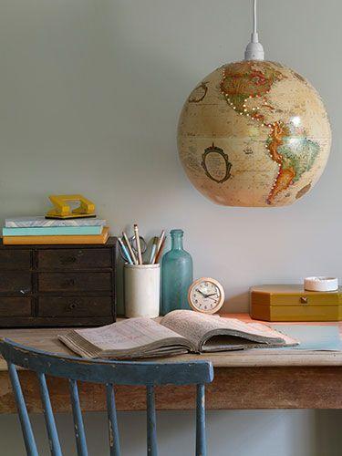 les 25 meilleures id es de la cat gorie lampes de globe sur pinterest globes et plans. Black Bedroom Furniture Sets. Home Design Ideas