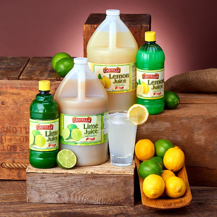 #TipTuesday – Use Castella Lemon Juice and Lime Juice as an alternative to freshly squeezed lemons and limes and get the same fresh taste for your lemonades, limeades, cocktails, marinades, dressings and more!
