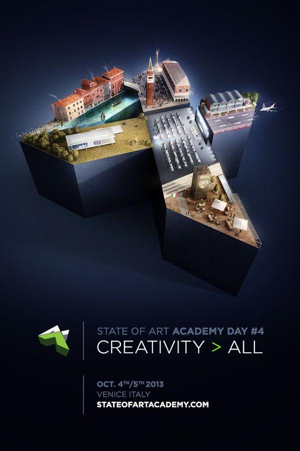 Academy day 4 - Adv #AD4 by Riccardo Desiderò, via Behance