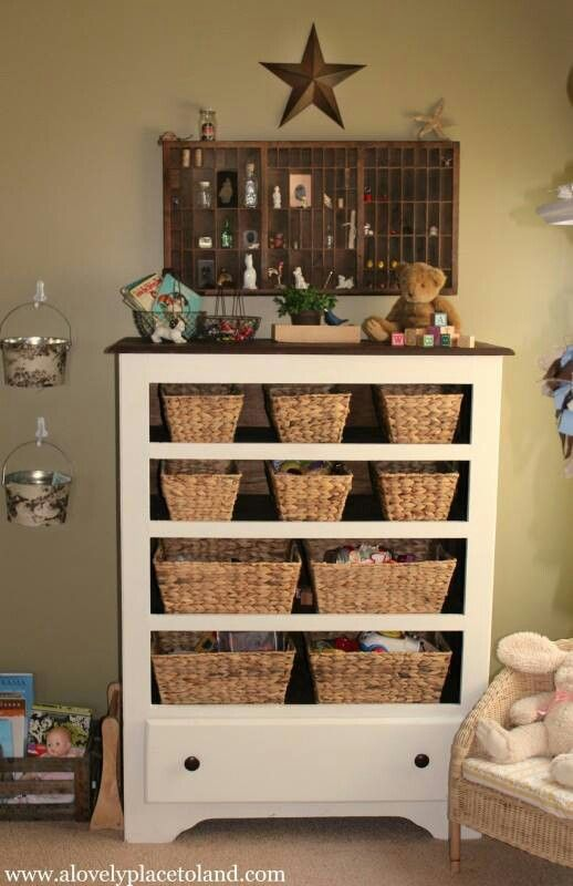 Great idea for old dressers