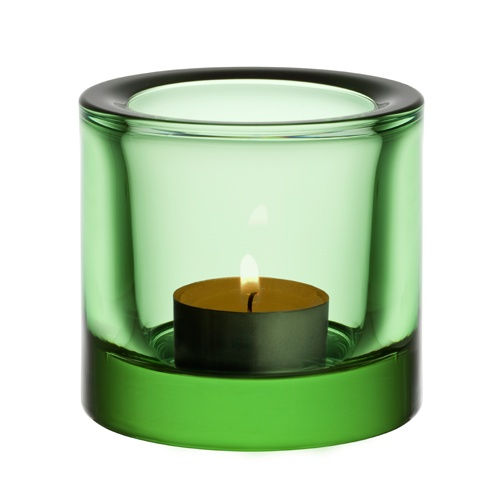 iittala Kivi Candle Holder - Apple Green  (available in other colors too)
