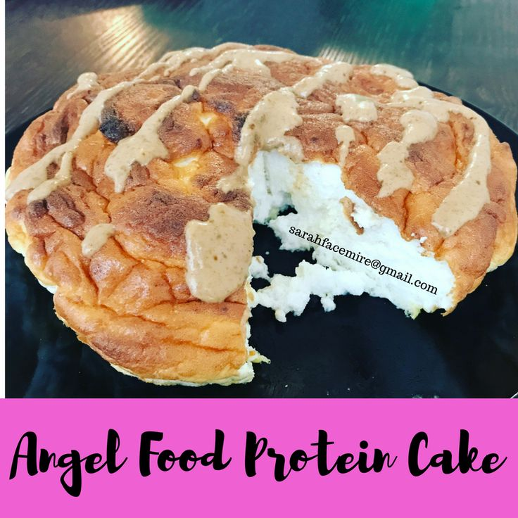 Now you can have your cake and eat it too ;) This angel food protein cake is perfect on bikini competition prep!