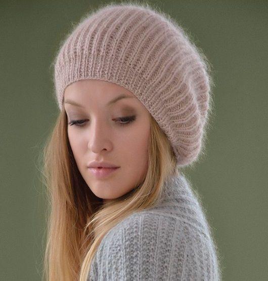 шапка из мохера Mist от Kim
