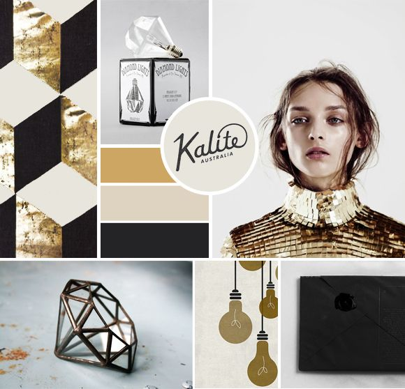 MOODBOARD 04 / BLACK & GOLD
