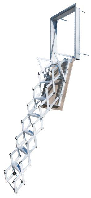 Escaleras Plegables y Escamoteables para pared - Escaleras Enesca.es