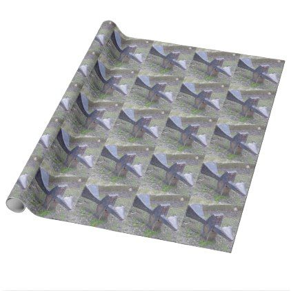 Huge Gate Lock Wrapping Paper - paper gifts presents gift idea customize