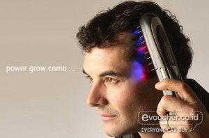 Hentikan Masalah Rambut Rontok & Kebotakan Dengan Power Grow Comb Yang Membuat Rambut Tumbuh Lebih Tebal & Kuat. - www.evoucher.co.id #Promo #Diskon #Jual
