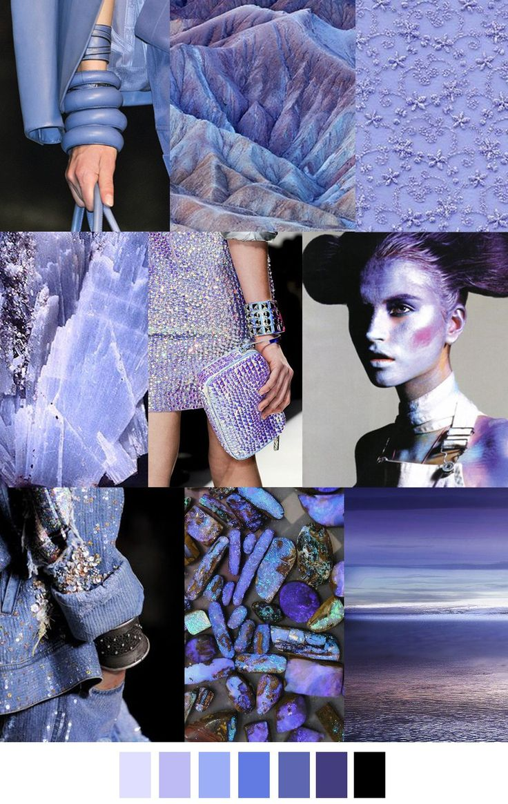 PERIWINKLE TWINKLE color and pattern fashion palette. Trends in fashion. For more followwww.pinterest.com/ninayayand stay positively #inspired
