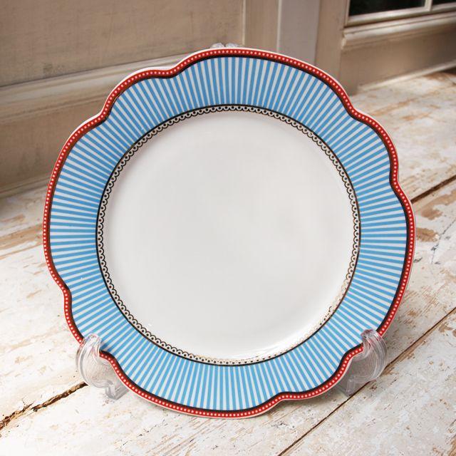 【北欧直輸入】リスベスダール プレート シーサイド Lサイズ(Lisbeth Dahl Plate Seaside porcelain)[HH40158] #manonstore #LisbethDahl