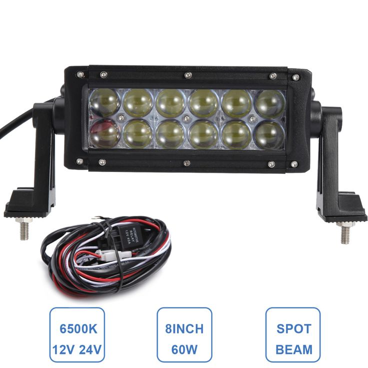 Stunning W u u LED Work Light Bar V V Driving Fog Lamp Car Auto Motor