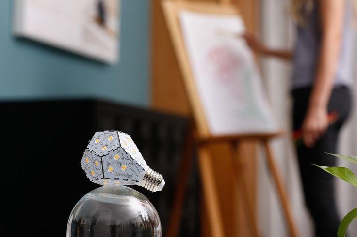 wohnzimmerlampen dimmbar: dimmbar: €29,99 #nanoleaf #bulbs #led #lampen #glühbirnen #produkte
