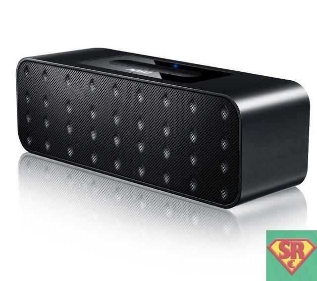 AOSO Altoparlante Bluetooth Wireless Stereo Portatile Con AUX-In/Carda di TF 2x3W Driver 10 Ore di Riproduzione Speaker con Microfono per Chiamate in Vivavoce