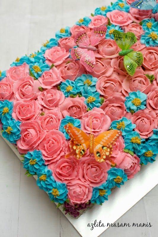Sour Cream Butter Cake Azlita