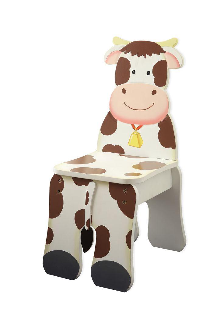 Happy Farm Kids Desk Chair