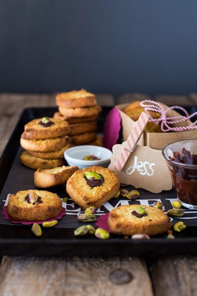 Buttery Pistachio and Almond Biscuits