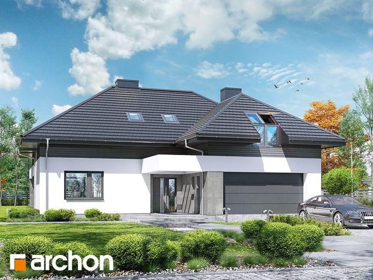 projekt Dom w maciejkach (G2) widok 2