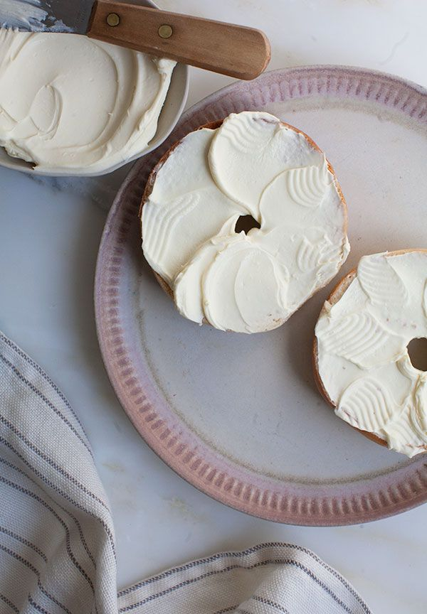 Homemade Cream Cheese! Creamier, smoother, and lighter than storebought, with the bonus of having made it yourself!